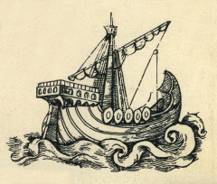 The Argo, the Argonauts ship, named after her builder, Argus.