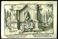 Ovid Metamorphoses illustrated by Johannes Baur. Book 7, Plate 62.