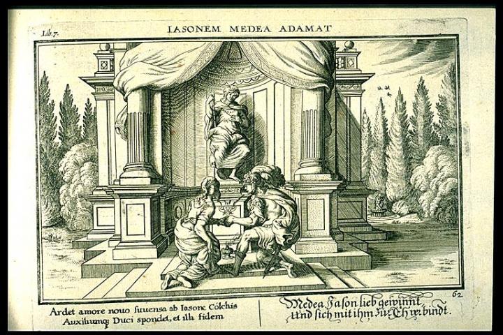 Ovid Metamorphoses Johannes Baur Book 7 Plate 62