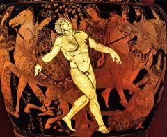 The Death of Talos the bronze automaton