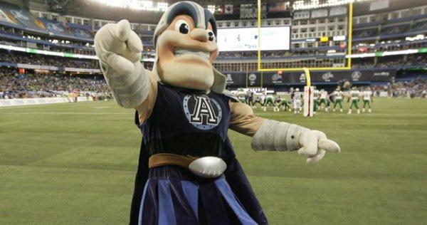 Toronto Argonauts Mascot Jason